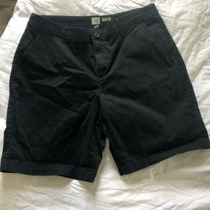 A New Day Black Bermuda Shorts